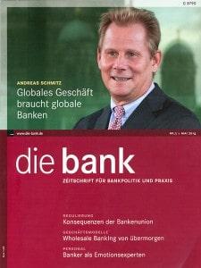 die bank - Titel der Mai-Ausgabe, Bank-Verlag GmbH