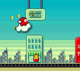 Flappy Saver - ein Flappy Bird-Clone der Ikano Bank