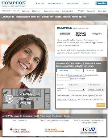 Compeon sucht die Zusammenarbeit um Enabler für Kreditvergabe an den Mittelstand zu werden.