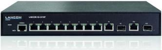 Lancoms GS-2310P soll Ethernet-Geräte (wie z.B. IP-Telefone & co) mit bis zu 130 Watt kumulierter Stromaufnahme versorgen können.