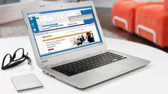 Quelle: Toshiba Chromebook/ eigen