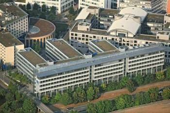 Der Sitz der VPV Versicherungen, kurz VPV, in Stuttgart. Quelle: VPV