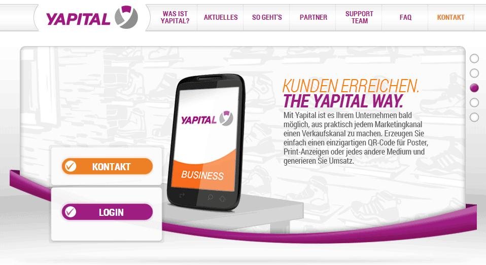 Yapital möchte als Partner der Banken verstanden werden.