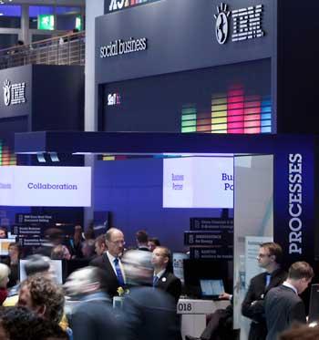 IBM auf der CeBIT: Quelle IBM