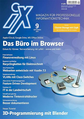 iX Ausgabe 9/2014
