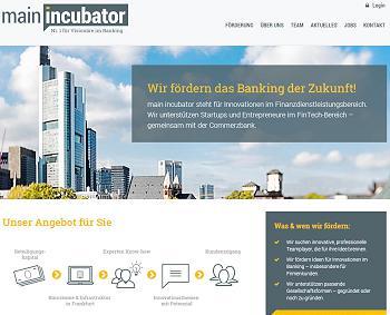 mit dem main incubator treibt die Commerzbank die Entwicklung von FinTechs gezielt voran.