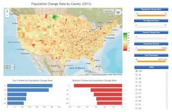 Die Visualisierung anhand von Karten helfe dabei, Trends und lokale Besonderheiten zu entdecken und zu verstehen. Information Builders