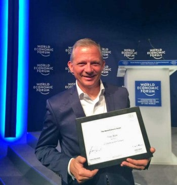 Matthias Kröner mit der Ernennung der Fidor Bank zum Fidor Bank/Facebook