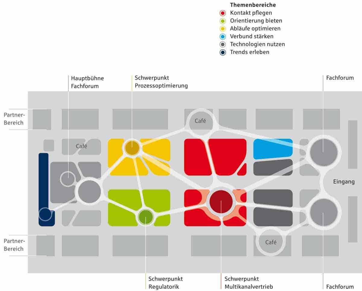 Lageplan des FI-Forum 2014 FI