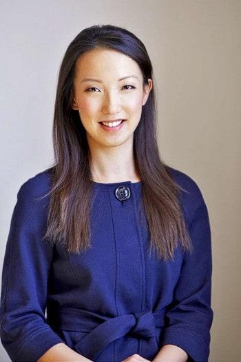 Clara Shih, Geschäftsführerin der Social-Business-Plattform Hearsay Social, die speziell für die Finanzindustrie entwickelt worden sei.Hearsay Social
