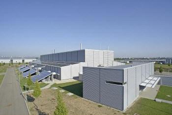 Das Fiducia Rechenzentrum in Rheinstetten: Hier verarbeitet und speichert die Fiducia Daten im Auftrag ihrer Kunden.Fiducia IT AG