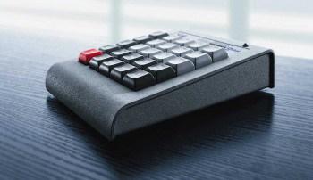 Per Knopfdruck kann die Steuereinheit den Bildschirmzugriff unterbinden.EBS