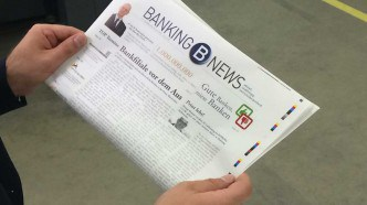 Die ersten Seiten der neuen Zeitung. Bankingclub