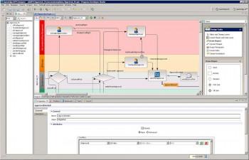 Die Arbeit mit einem BPM-Modellier-Tool. Progress Software