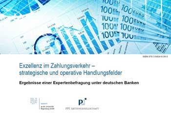 """Die Studie """"Exzellenz im Zahlungsverkehr"""" von PPI und ibi research erfasst den Status quo im Zahlungsverkehr und will strategische Handlungsoptionen aufzeigen."""