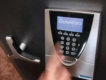 Biometrisches Hochsicherheitsschloss GSL 1Gunnebo