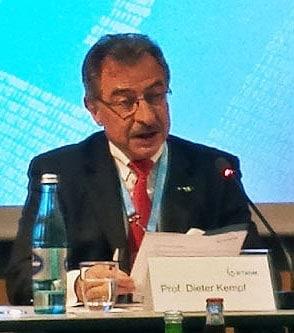 Prof. Dieter Kempf,Präsident der BITKOM