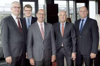 Geschäftsführung: Gisbert Beckmann, Jürgen Nöther, Daniel Keller, Frank Wienker, Patrick Yousefian VR FinanzDienstLeistung