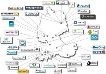 Die 40 Teilnehmer am Banking IT Innovation AwardCC Sourcing