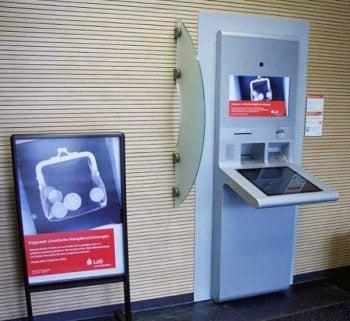 Der neue ATM bei der LzOGRGBanking