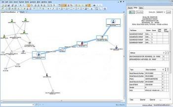 EIA soll Zusammenhänge visuell darstellen, um dem Bearbeiter Entscheidungen zu vereinfachen.IBM