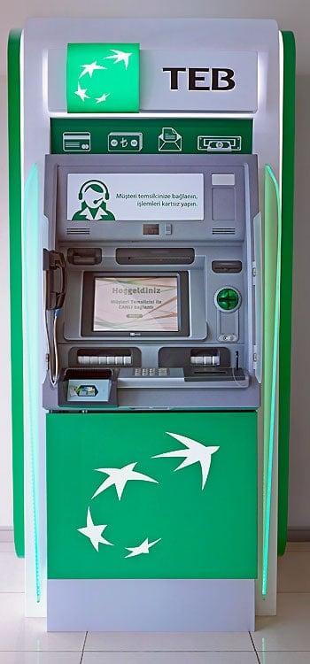 Geldautomat mit Videofunktion oder Videoteller der auch Geld ausgibt? NCR