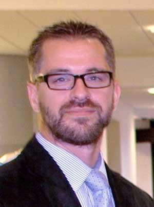 Mark Egener, EDV-Systemadministrator Volksbank DinslakenPrivat