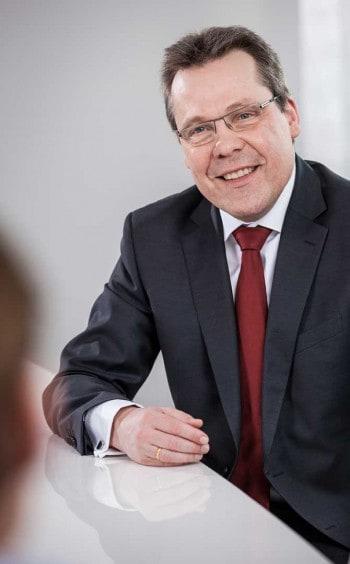 Klaus-Peter Bruns, Vorsitzender des Vorstands