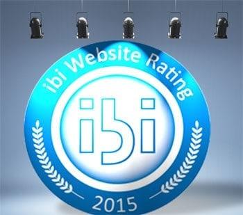 Zum 17. Mal vergeben: das ibi Website Rating