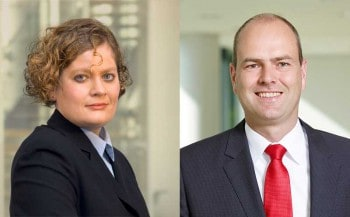 Dr. Ina Baumann und Dr. Christoph VormoorARAG