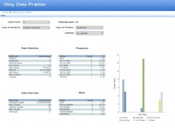 Data-Profiling-Tools helfen mithilfe von Geschäftsregeln, die Aktualität oder die Vollständigkeit der Daten einzuschätzen und die Ursachen von Qualitätsproblemen zu beheben.Information Builders