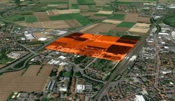 28 Hektar soll das Projekt umfassen.