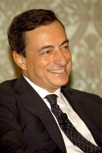 Mario Draghi, Präsident der Europäischen ZentralbankEZB