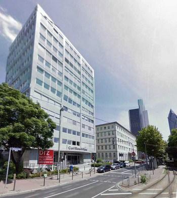 Der Sitz von GIMB in FrankfurtGoogle Streetview