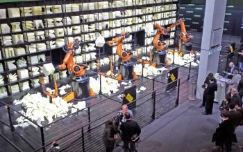 RoboChop auf der CeBIT 2015