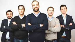 Das Management-Team der simplesurance.simplesurance
