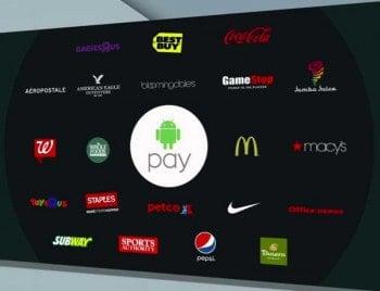 Android-Pay-Partner zur Markteinführung in USA. Europa soll zügig folgen.Google