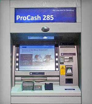 Der zum ProCash 280 optisch Baugleiche 285 ATMWincor Nixdorf