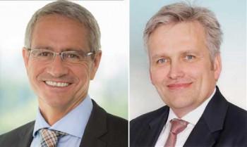 Neuer CSO Pietro Hagemann und COO Thomas BrunsConCardis