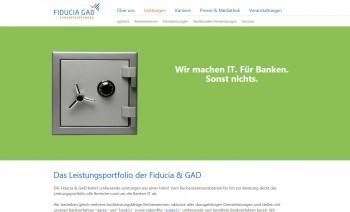 An 16. Juli startete die Fiducia GAD auch ihre neue, lebendige WebsiteFiduciaGAD