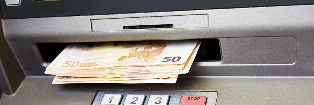 Gehackter Irrtum: 50 Euro-Scheine statt 5 Eurokadmy/bigstock.com