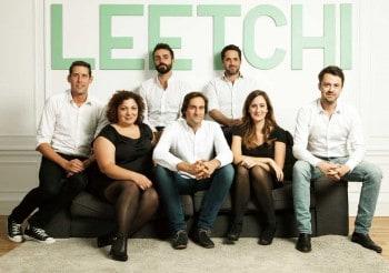 Leetchi Vorstand, von links: Pierre Lion, Laure Némée, Matthieu Pozza, Benjamin Bianchet, Romain Mazeries, Céline Lazorthes), Alexis BarbaLeetchi.com