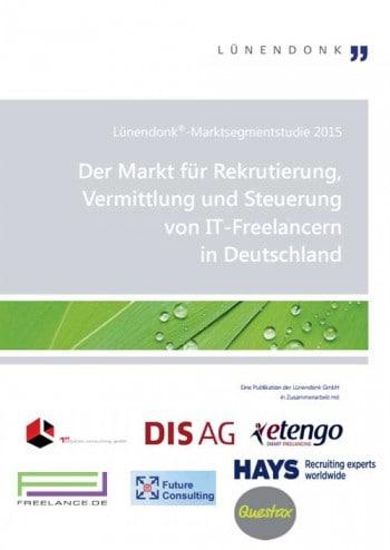 """Studie """"Der Markt für Rekrutierung, Vermittlung und Steuerung von IT-Freelancern in Deutschland""""Lünendonk"""