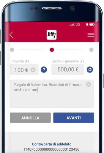 """P""""P-Payment auf Itallienisch für Banken gedacht.SIA"""