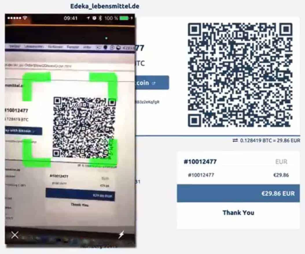 mit bitcoins zahlen