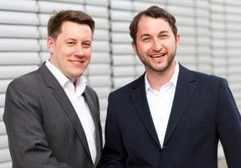 Dirk Rudolf (COO,links) und Stefan Krautkrämer(CEO) von FinTecSystemsFiNTecSystems