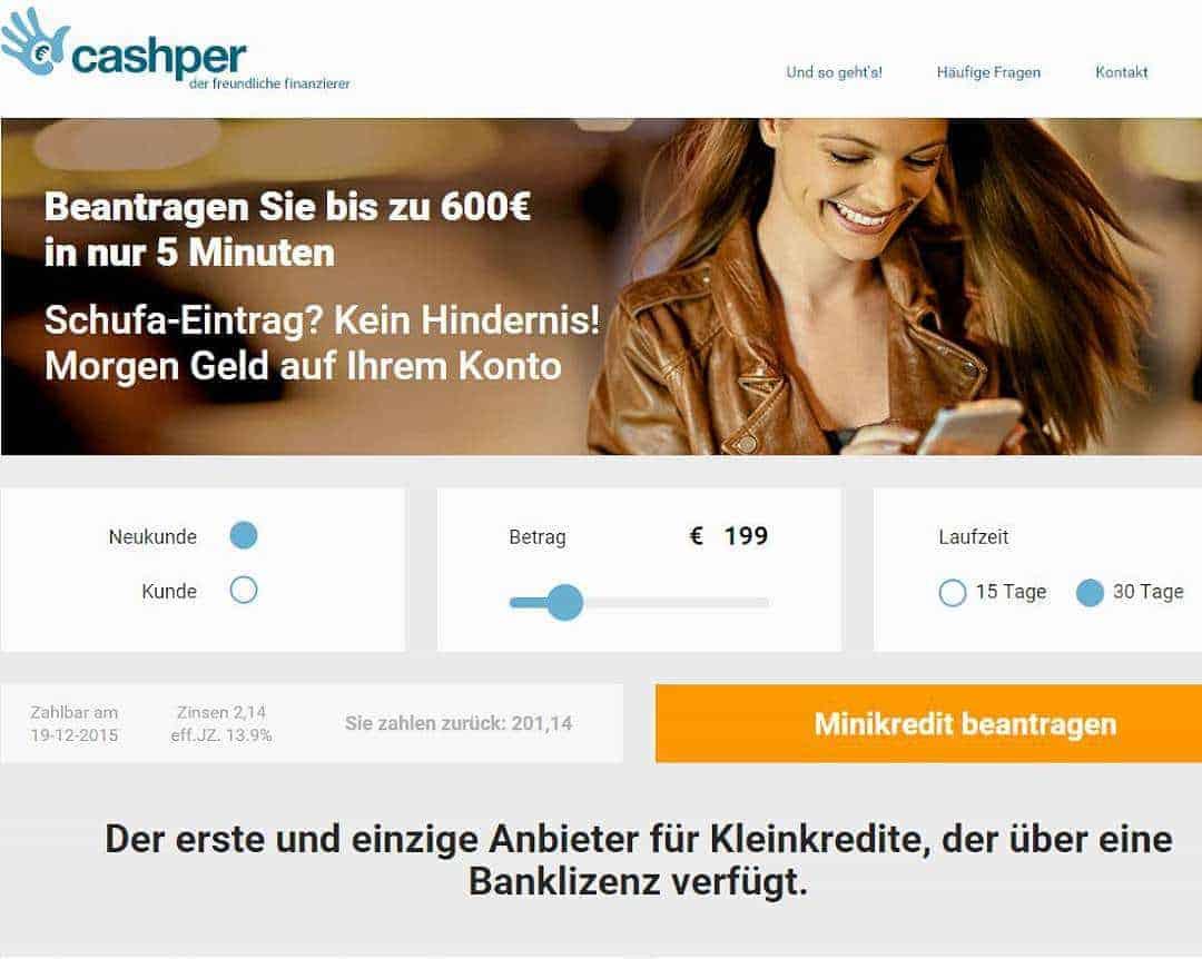 Cashper Erfahrungen Forum