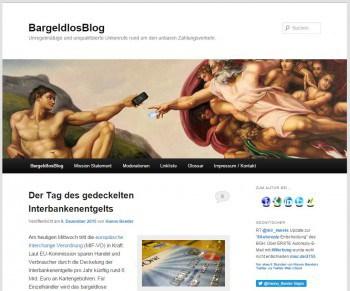 Eine wertvolle Quelle: Das Bargeldlos-Blog von Hanno BenderBargeldlos-Blog