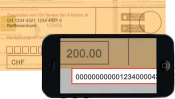 Per Smartphone können Überweisungen über OCR direkt verarbeitet werdenRaiffeisen