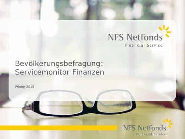 NFS Netfonds Servicemonitor Finanzberatung Winter 2015